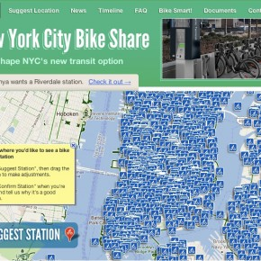 NYC DOT crowdsourcing website