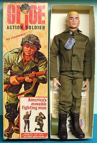 G.I. Joe action figure från 50-talet
